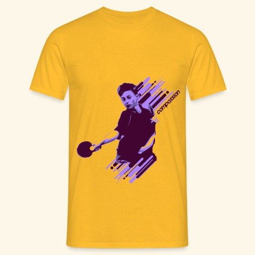 Compassion to win the table tennis championship - Männer T-Shirt