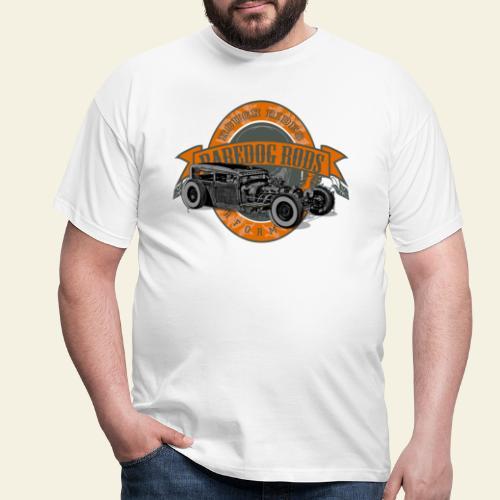 Raredog Rods Logo - Herre-T-shirt
