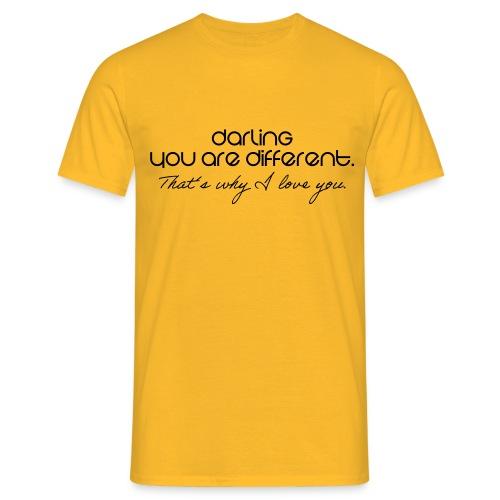 Romantisch - Männer T-Shirt