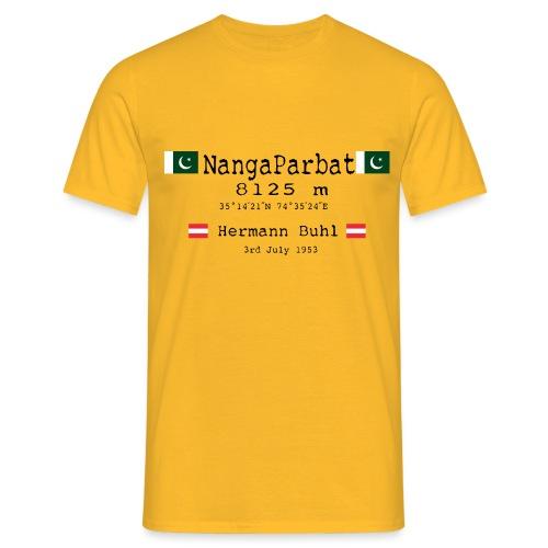 NangaPArbat20-01Black - Maglietta da uomo
