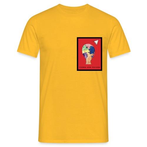 Views and Voices - Männer T-Shirt