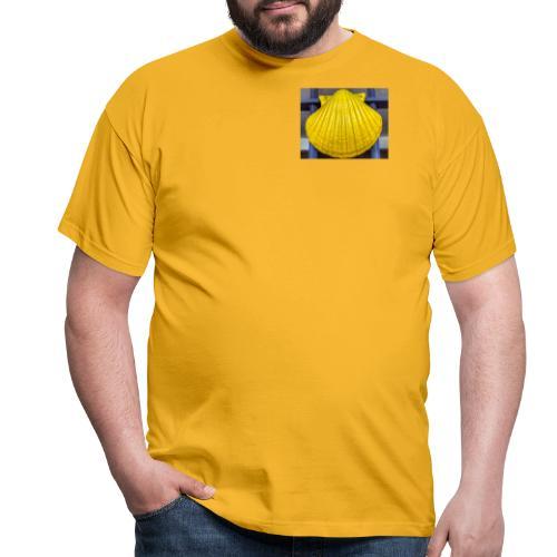 concha amarilla - Maglietta da uomo