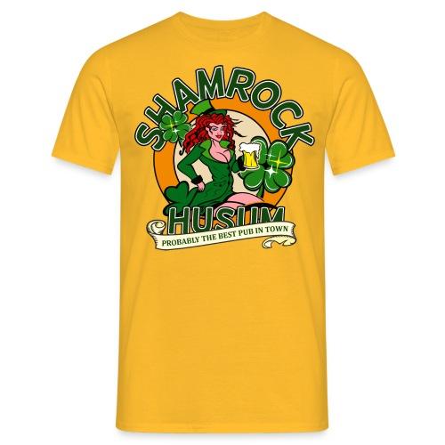 Shamrock Husum Logo Frau - Männer T-Shirt