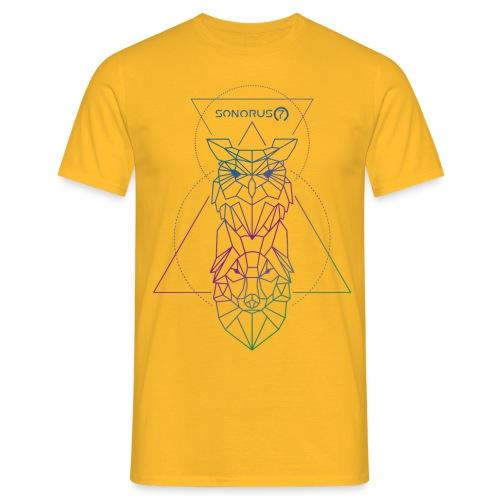 Sonorus7 Eule + Wolf 2 - Männer T-Shirt