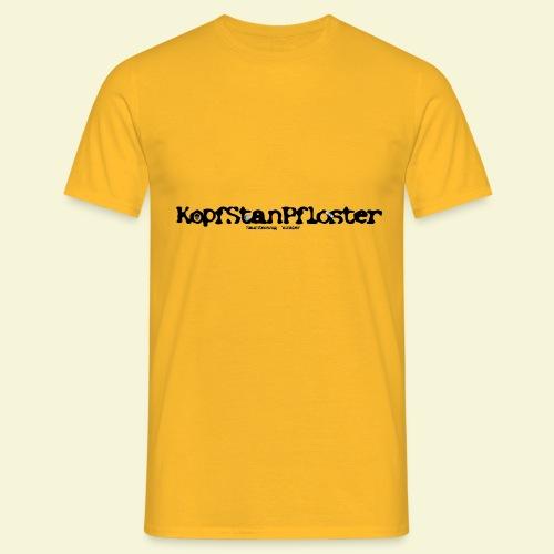 KopfStanPfloster Banner - Männer T-Shirt