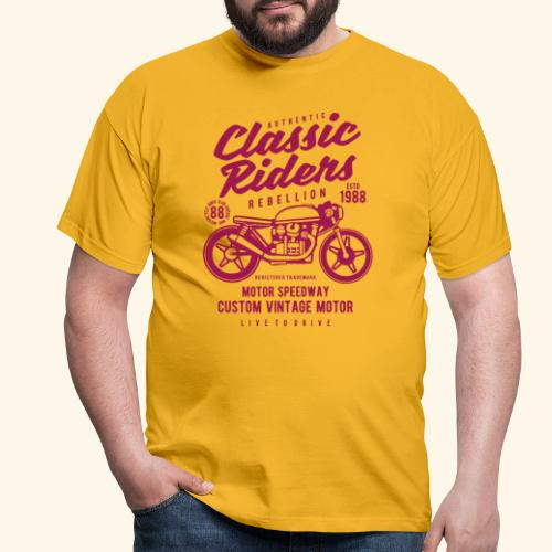 Classic Riders - Männer T-Shirt