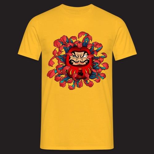 spreadshirt_Daruma - T-shirt Homme