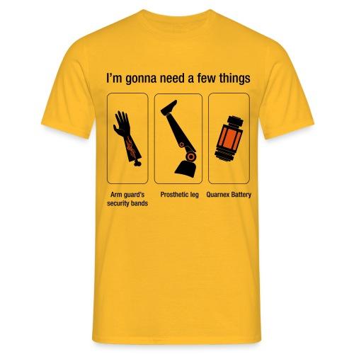 Rocket citation Few things gardiens - T-shirt Homme