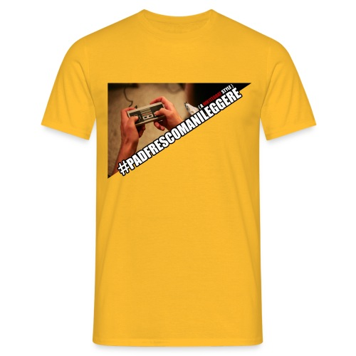 TSHIRT PAD png - Maglietta da uomo