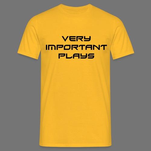 VIP BLACK - Männer T-Shirt