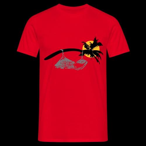 Entspannung bei Nacht - Männer T-Shirt