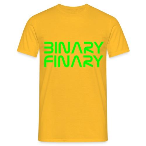 binaryfinary logov03 - Men's T-Shirt
