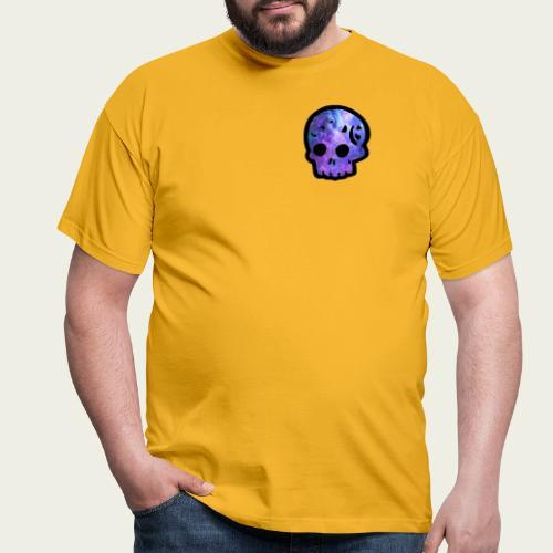 Skull craneo nebulosa - Camiseta hombre