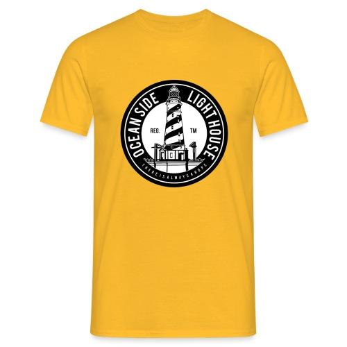 Ocean Side Light House - Männer T-Shirt