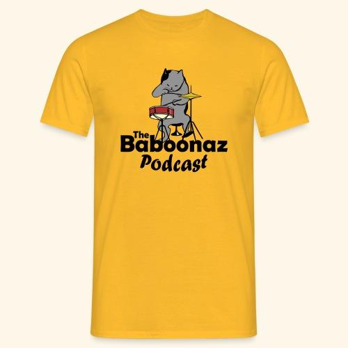 The Baboonaz drummer cat - T-shirt herr