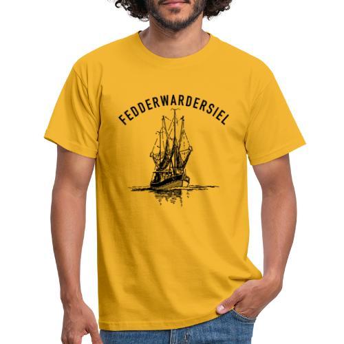 Fedderwardersiel Kutter - Männer T-Shirt