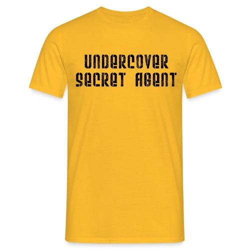 Undercover secret agent - Men's T-Shirt