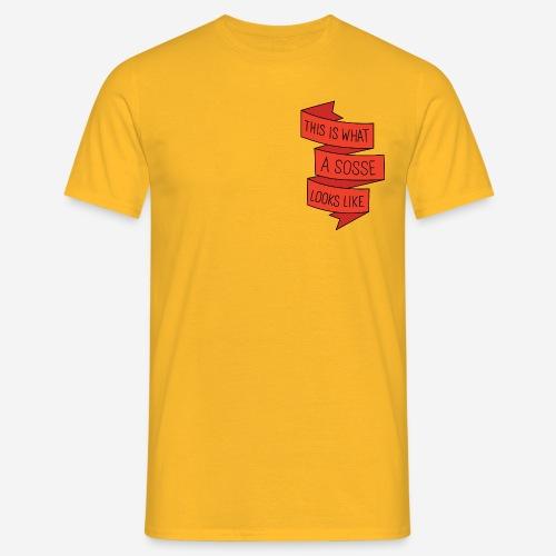What a sosse looks like - T-shirt herr