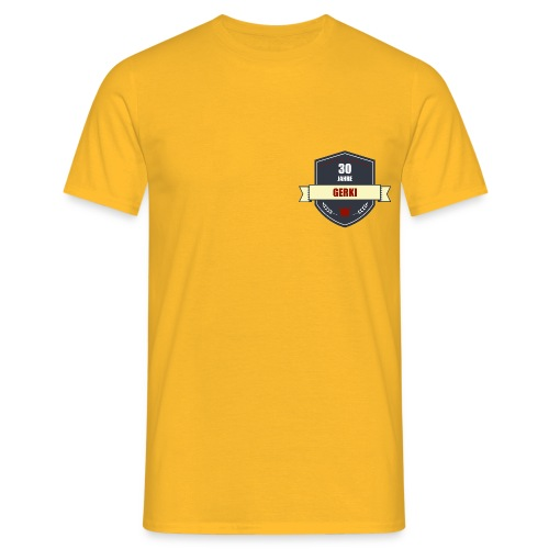 Logo vorn neu png - Männer T-Shirt