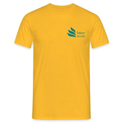 Trésor de Loire Logo - T-shirt Homme