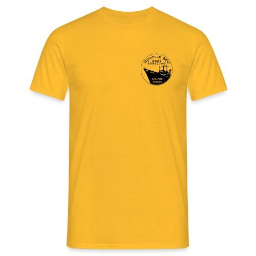 Logo_Sport-in-MV_gravur_2 - Männer T-Shirt