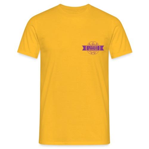 LARBREQUATRE_Logo - Männer T-Shirt