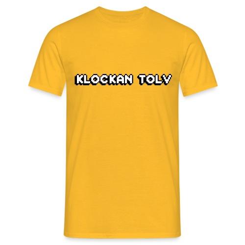 klockan12 png - T-shirt herr