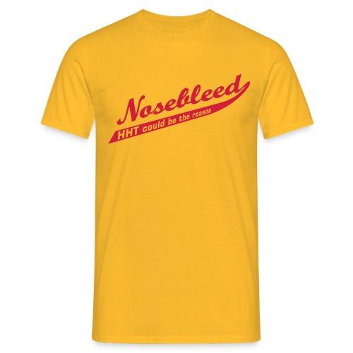 Nosebleed - Männer T-Shirt