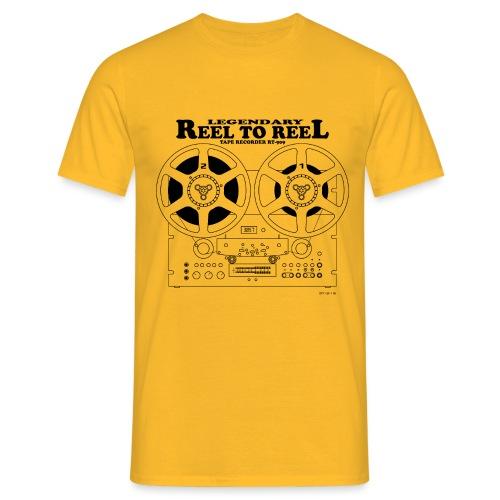 Magnétophone à bande - T-shirt Homme