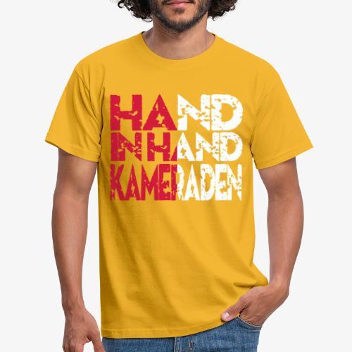 Hand In Hand - Mannen T-shirt