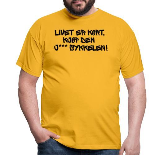 Sykkelfjas - T-skjorte for menn