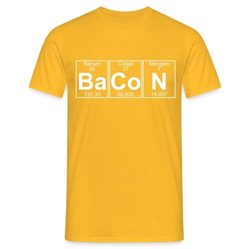 Ba-Co-N (bacon) - Full - Men's T-Shirt