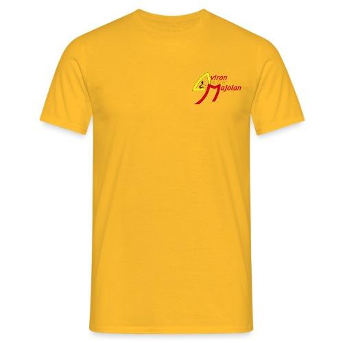 logo aviron majolan png - T-shirt Homme