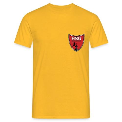 hsg wappen rot - Männer T-Shirt
