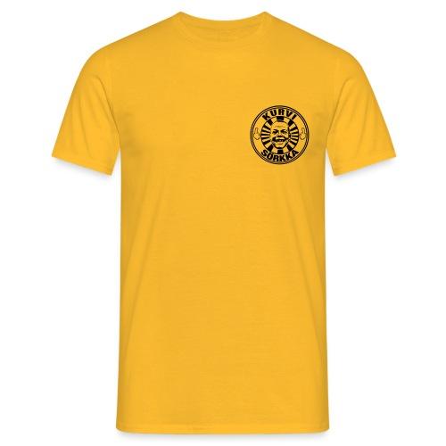 Kurvi - Sörkka - pieni printti - Miesten t-paita