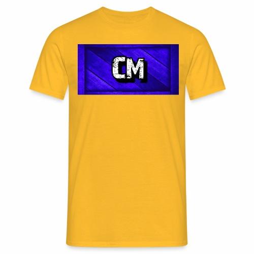 Cory Mura Blue channel - Männer T-Shirt
