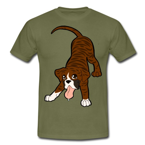 Boxer Tigrato - Maglietta da uomo