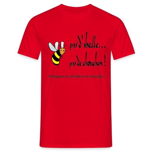 Pas d'abeille, pas de chouchen - T-shirt Homme