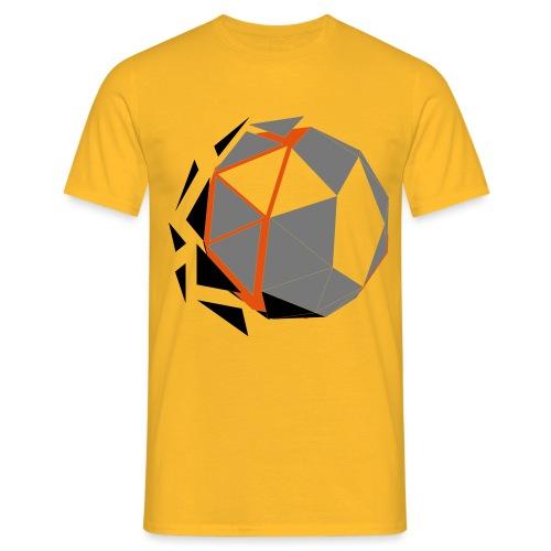 Polygone Ball - Männer T-Shirt