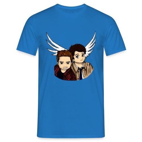 Destiel i farver - Herre-T-shirt