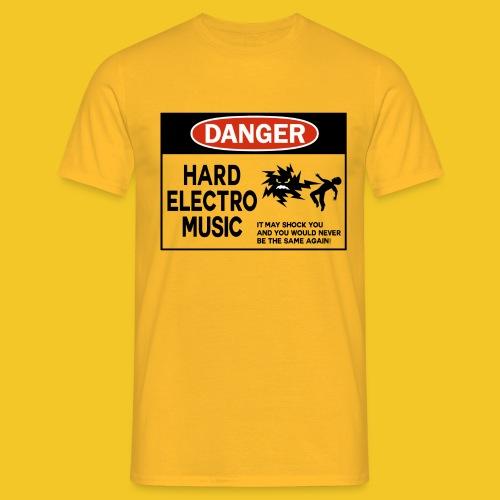 danger hard electro png - Men's T-Shirt