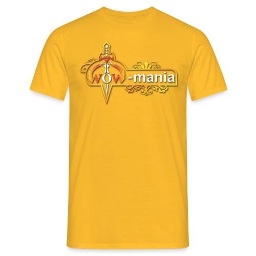 WoW mania Logo - Men's T-Shirt