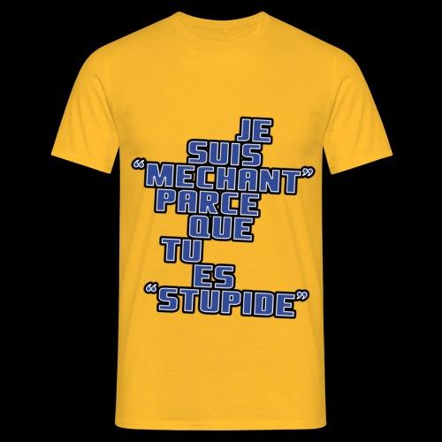 JE SUIS MECHANT - T-shirt Homme