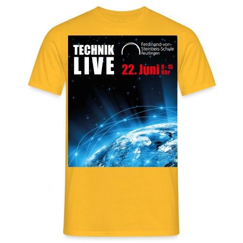 TECHNIK LIVE 2018 - Männer T-Shirt