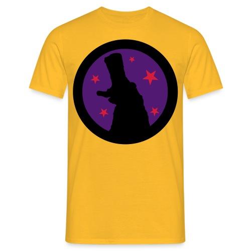 button maloke shadow - Men's T-Shirt