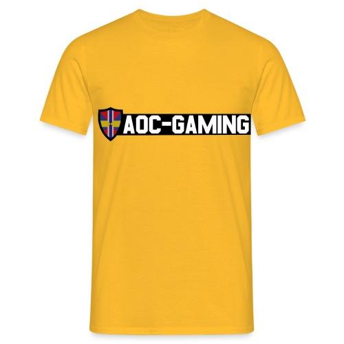 aoc logo s tr - T-shirt herr