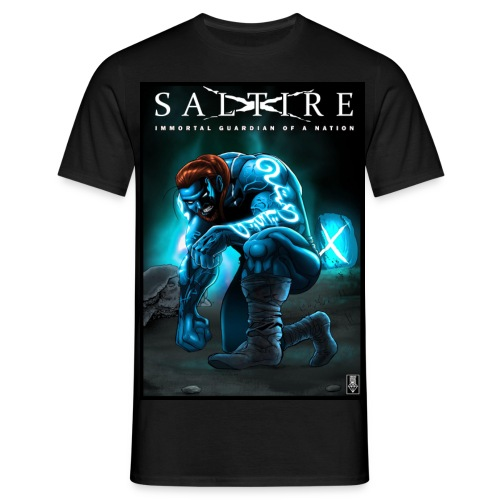 Saltire Invasion1 - Men's T-Shirt