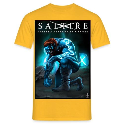 Saltire Invasion1 - Men's T-Shirt