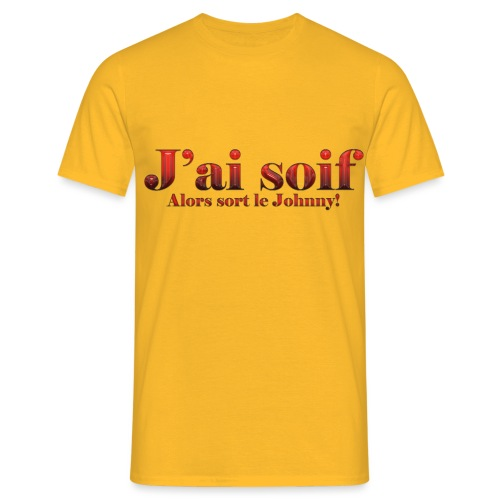 J'ai soif VJ2 - T-shirt Homme