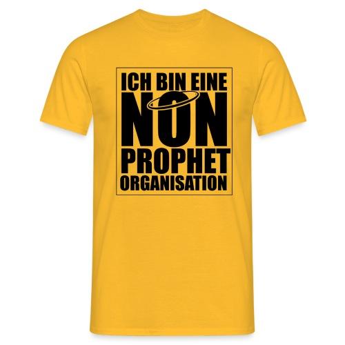 Non-Prophet Organisation (schwarz) - Männer T-Shirt
